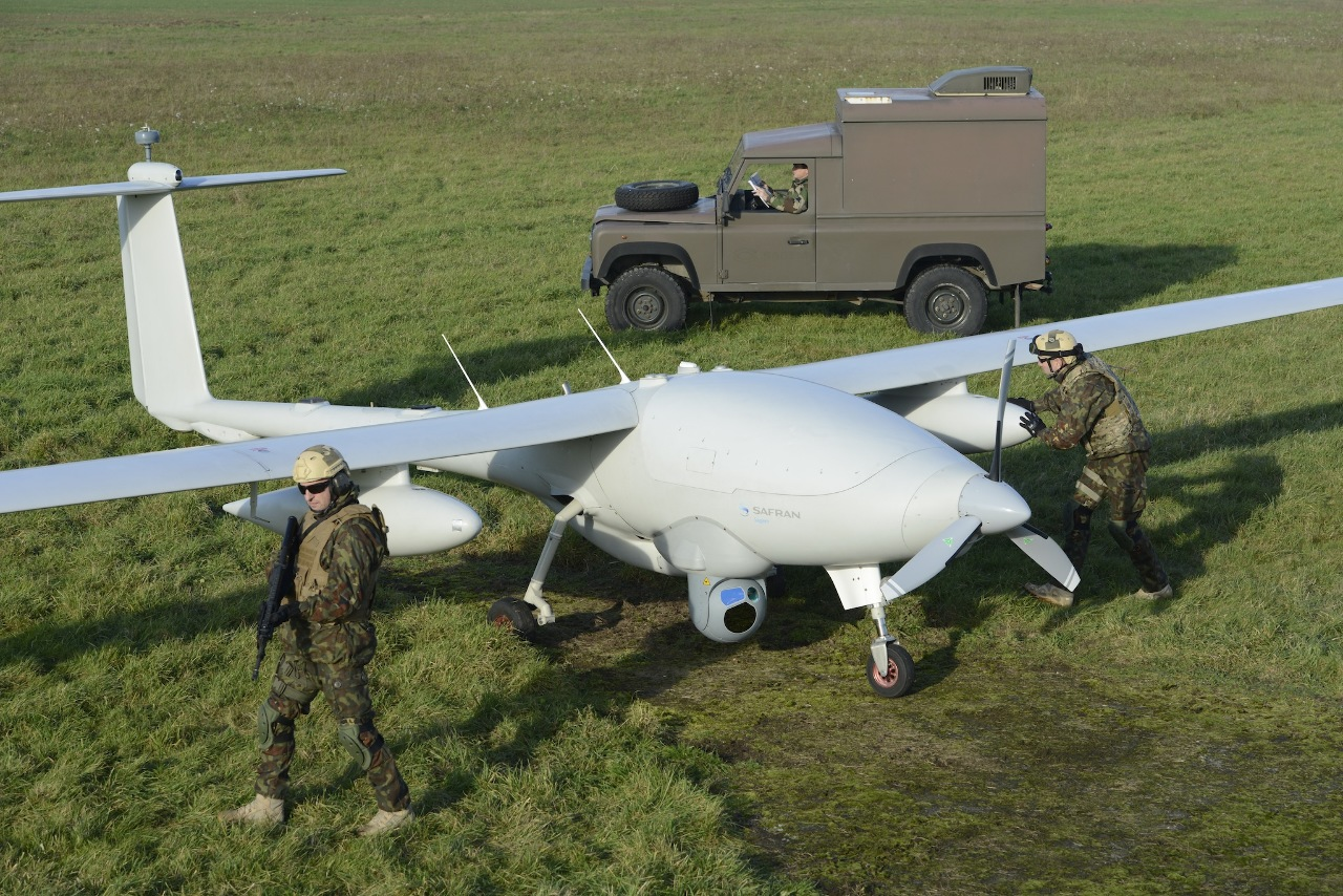 Leonardo radar selected for French tactical drone