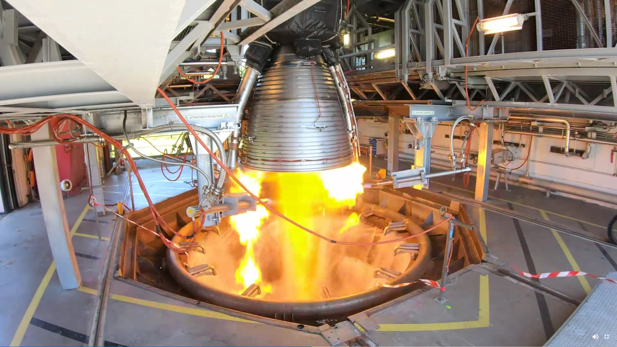 "Ariane 6's ""Good for Flight"" first stage engine"