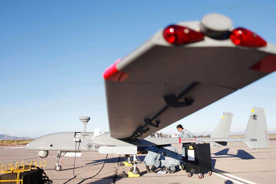 Singapore Heron 1 UAVs ready for combat