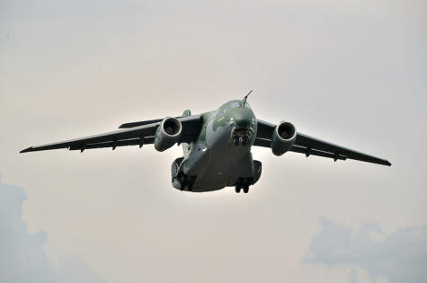 First series production KC-390 makes maiden flight