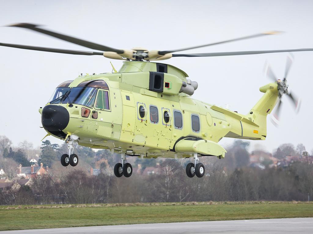 Leonardo Osprey radar launches on Norwegian AW101