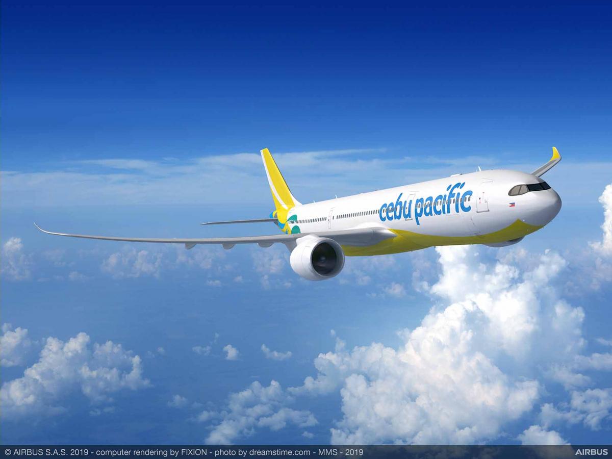 Cebu Pacific confirms its 16 Airbus A330neo aircraft