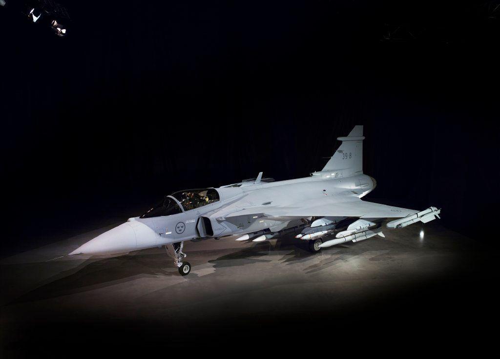 "Saab unveils ""new"" Gripen"