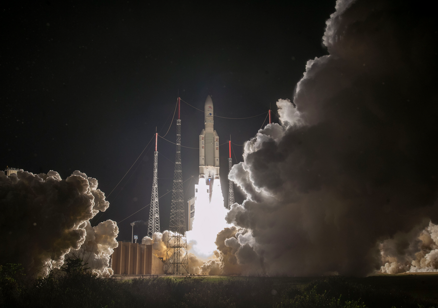 Arianespace launches BepiColombo to explore Mercury