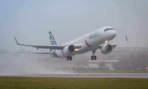 Airbus reaches 542 net sales