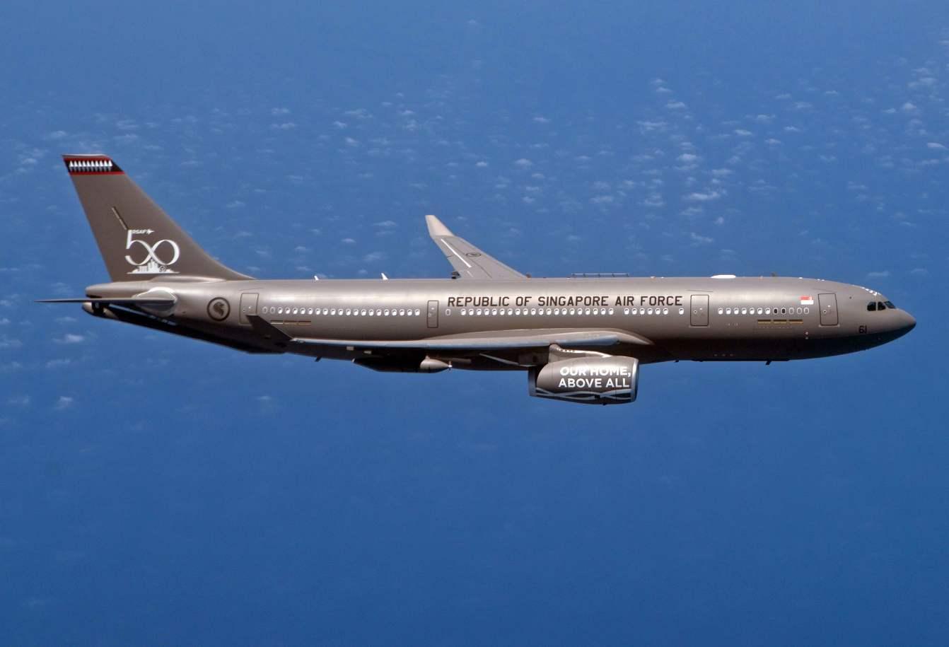 Singapore receives first A330 MRTT