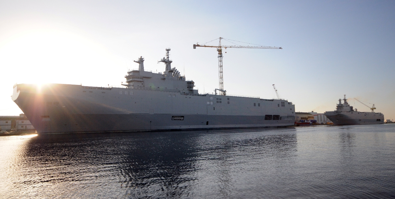 DCNS delivers first Mistral-class LHD to Egypt