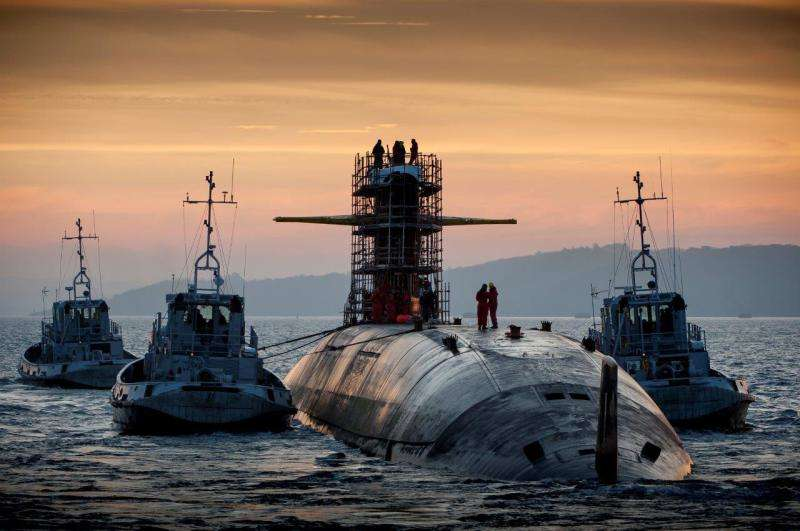 Third French SSBN modified for M51 missile