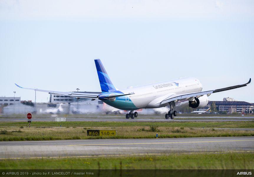 SR Technics on Garuda Indonesia's A330 aircraft
