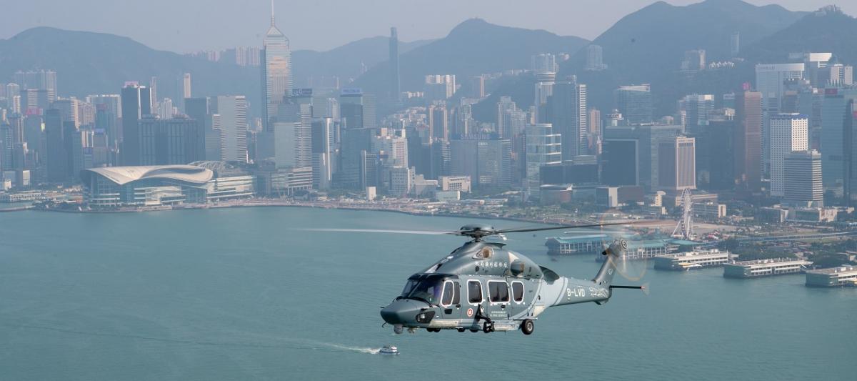 Hong Kong Government Flying Service's H175 fleet reaches 5,000 flight hours