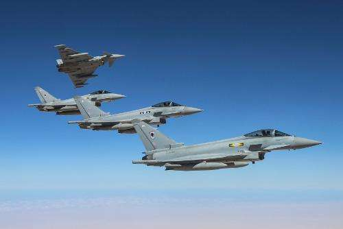 RAF Typhoons land in Japan for bilateral exercise
