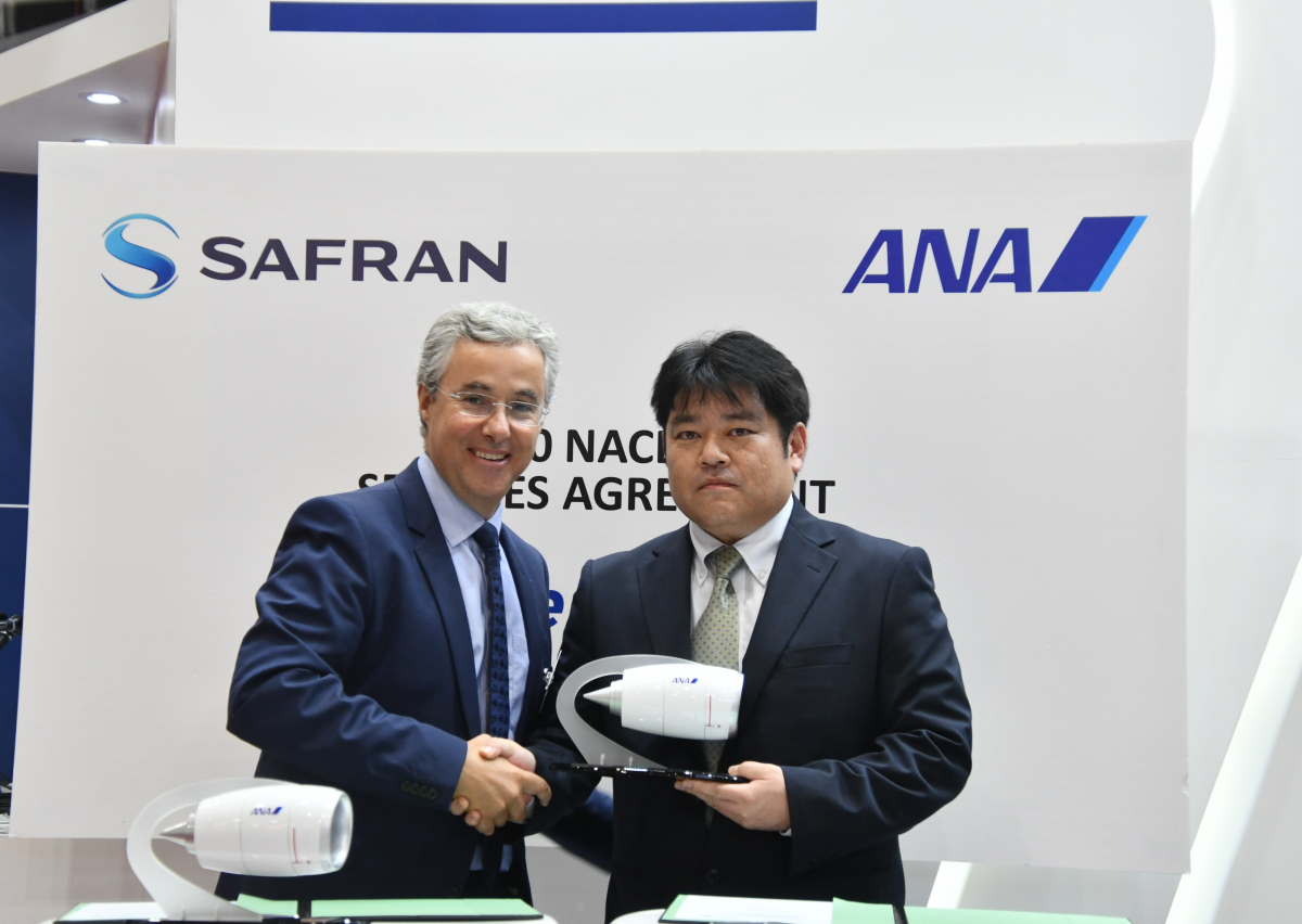 MRO APAC 2019: ANA selects Safran's NacelleLife for its Airbus A380