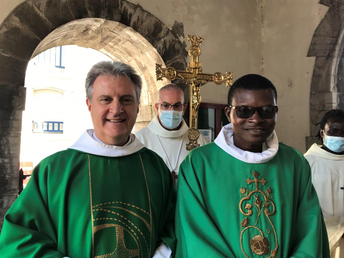 L'abbé Maxime EDOH est parmi nous depuis le 1er septembre