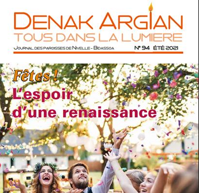 """A présent """"Denak Argian"""" se lit en ligne !"""
