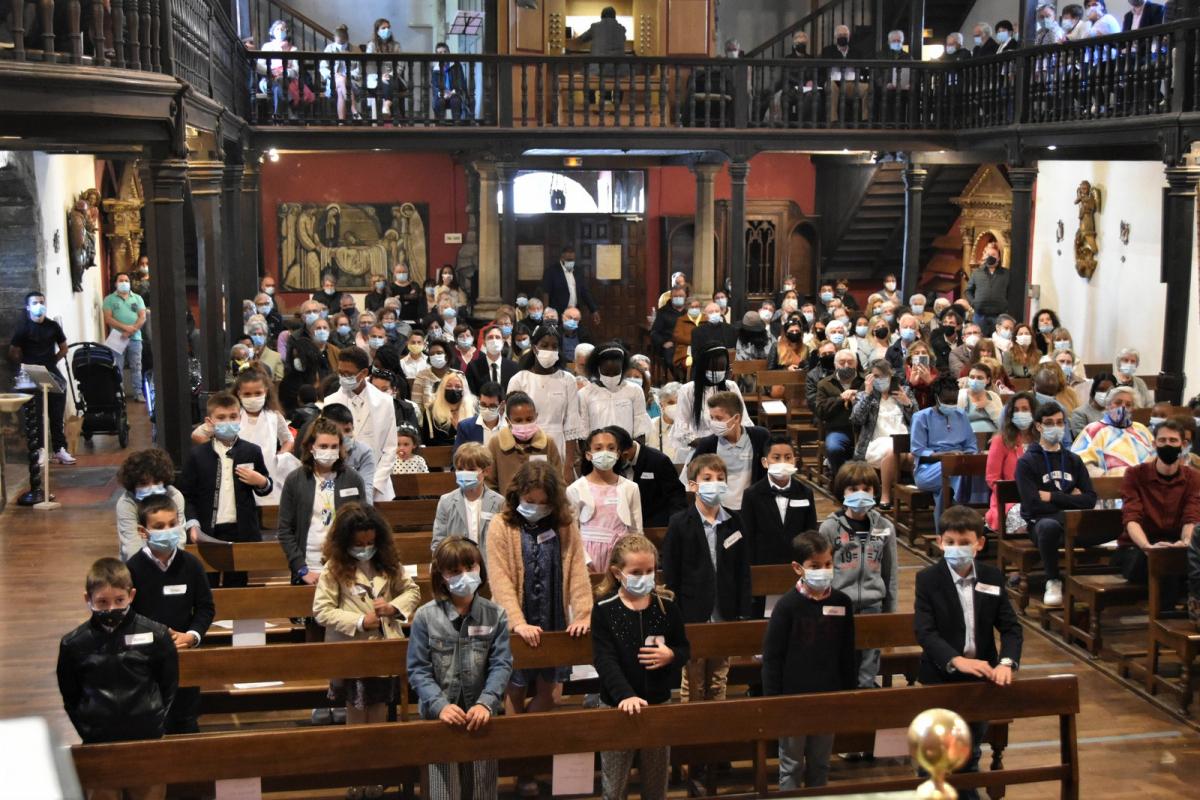 23 mai 2021 - Dimanche de Pentecôte - Sacrement de la Confirmation