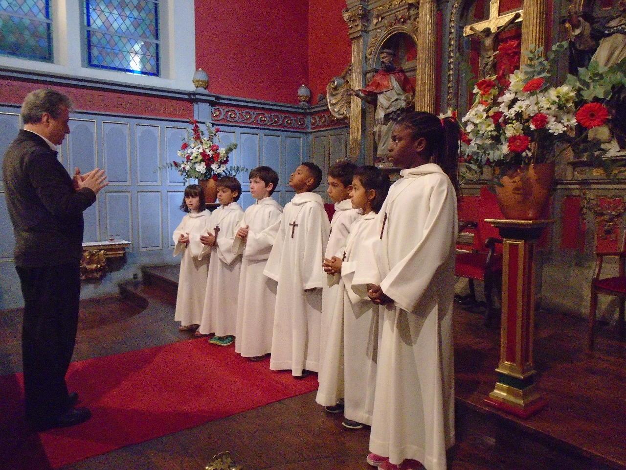 Recommandation pour la procession de communion