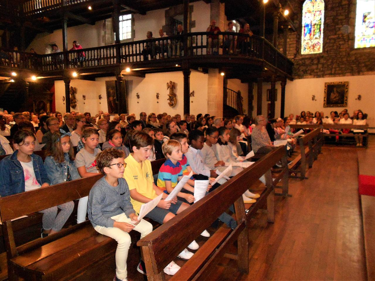 14 octobre : Messe des Familles