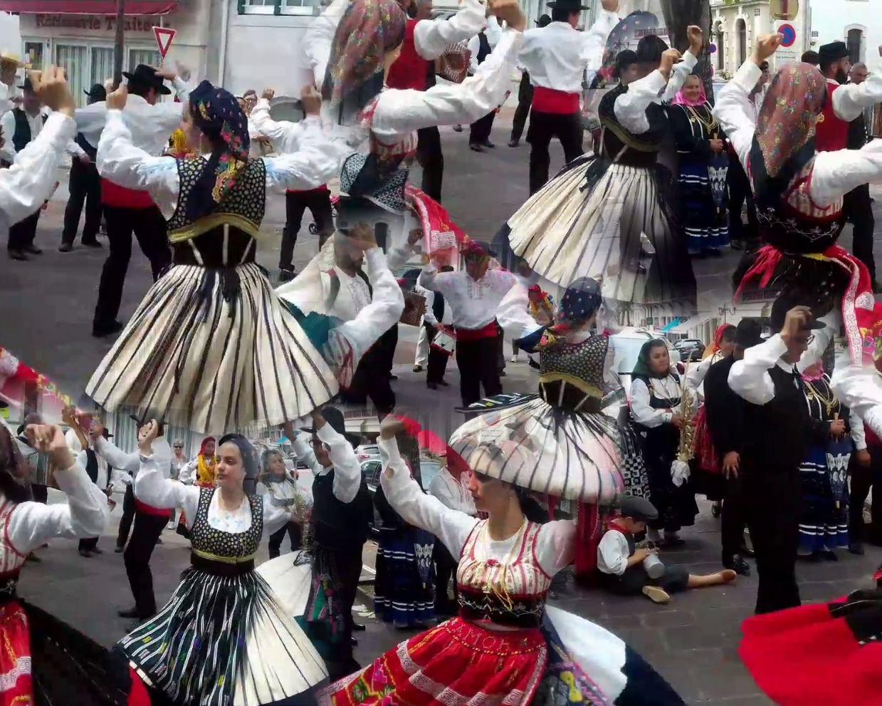 """Bien sûr, """"Flores de Portugal"""" nous ont à nouveau ravis par leur musique et leurs danses !"""