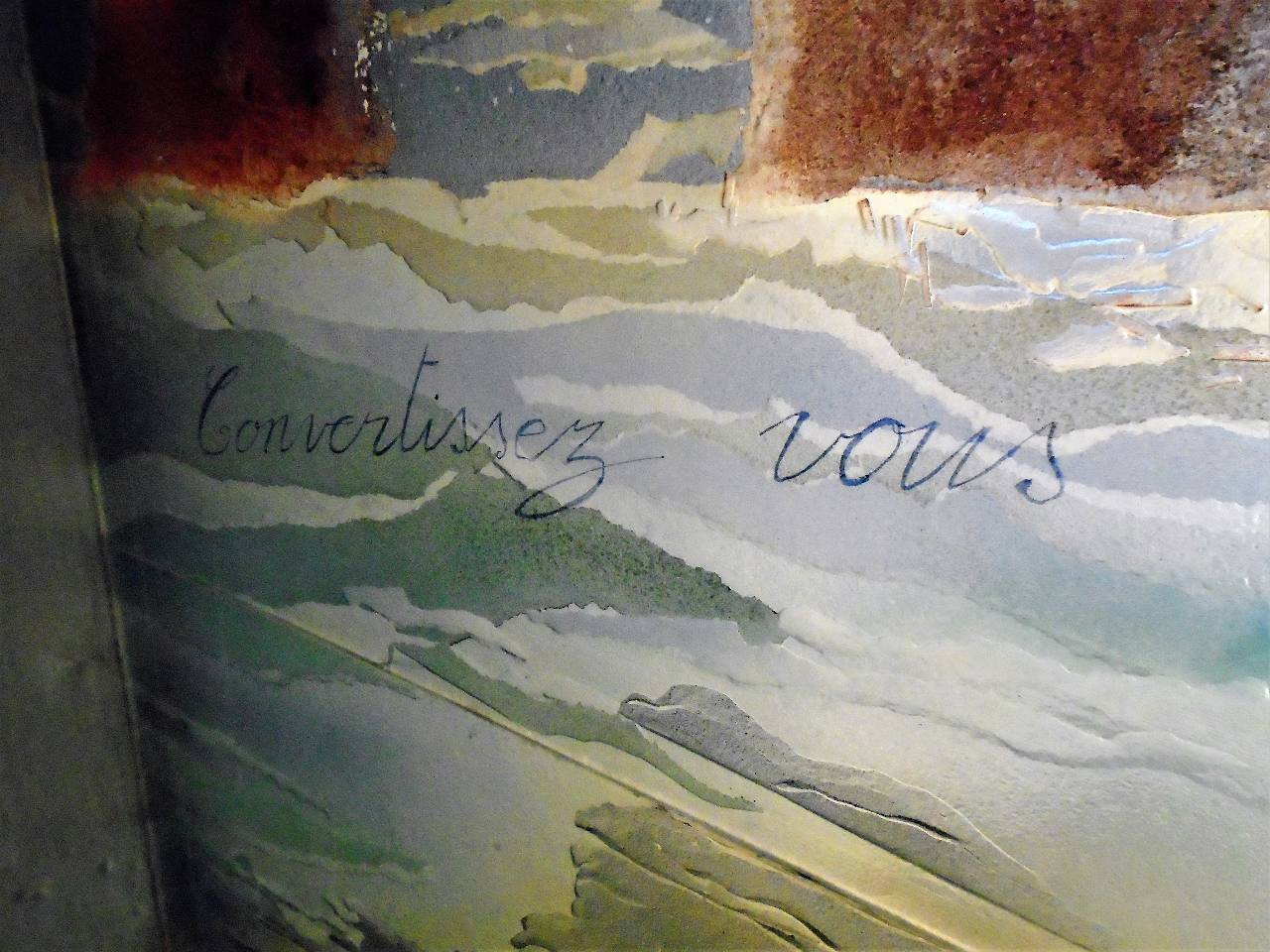 Vitraux de la chapelle Notre Dame de Lourdes
