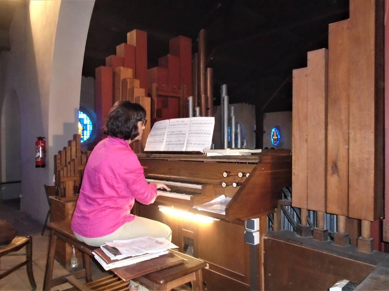 A l'orgue, Susana Rallo