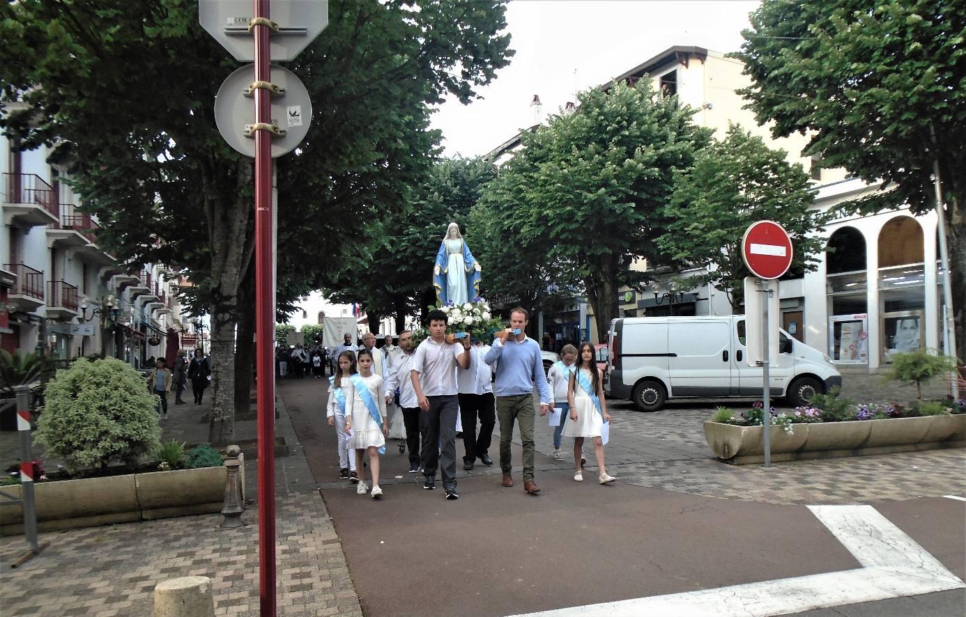 Vendredi 25 mai 2018: 2e Procession en l'honneur de Notre Dame de la Bidassoa