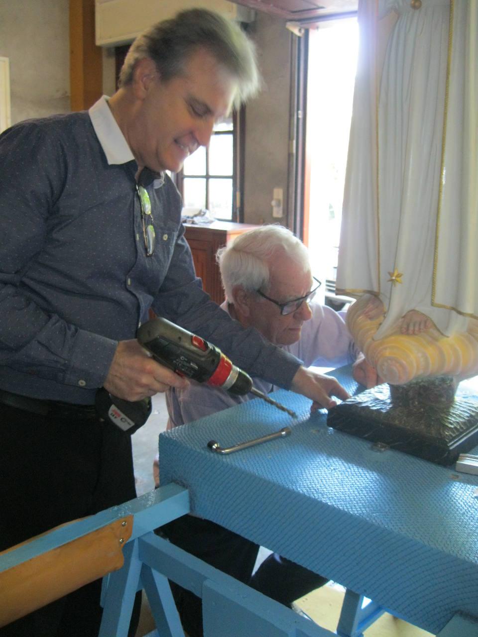 Jean Etchechourry et son assistant !