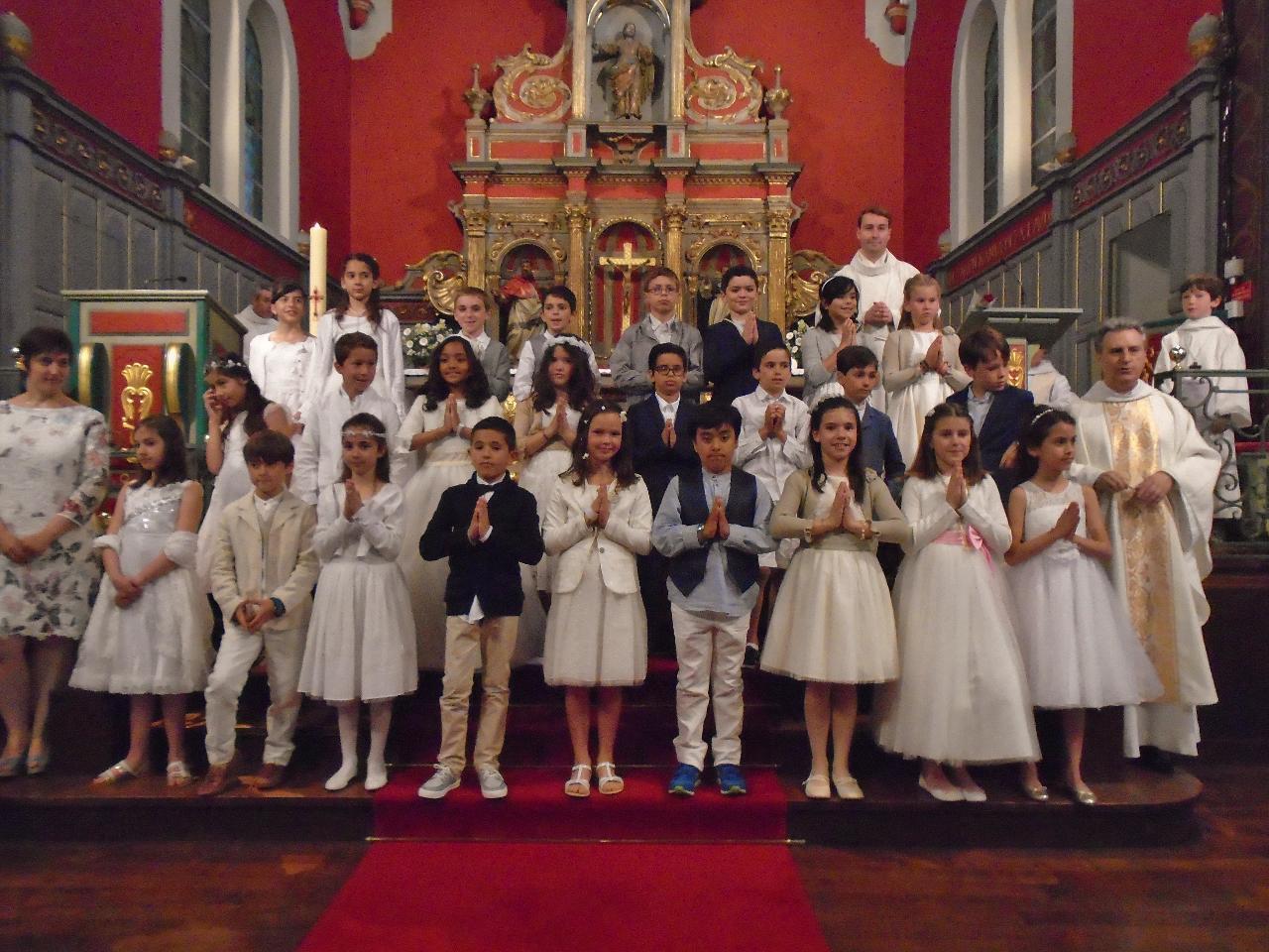 Premières communions - 5 juin 2016