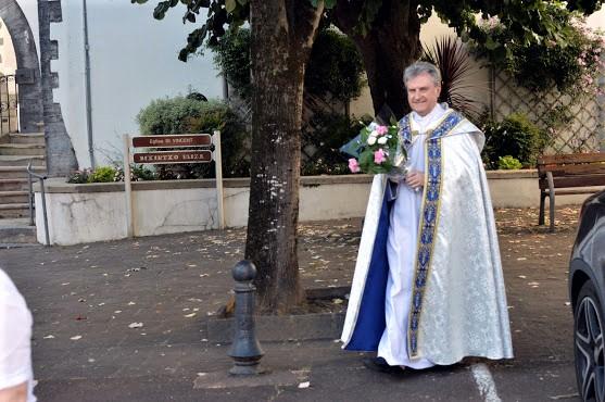 L'abbé Jean-Marc ferme la marche