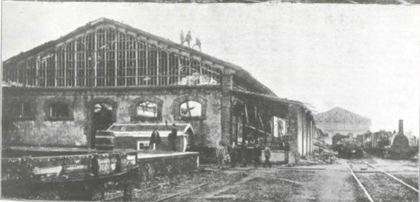 Mars 1901 - La catastrophe d'Irun