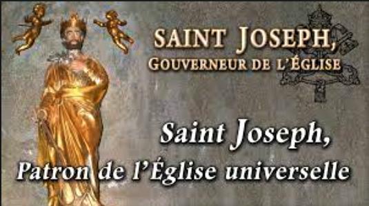 Le don des indulgences en l'année saint Joseph