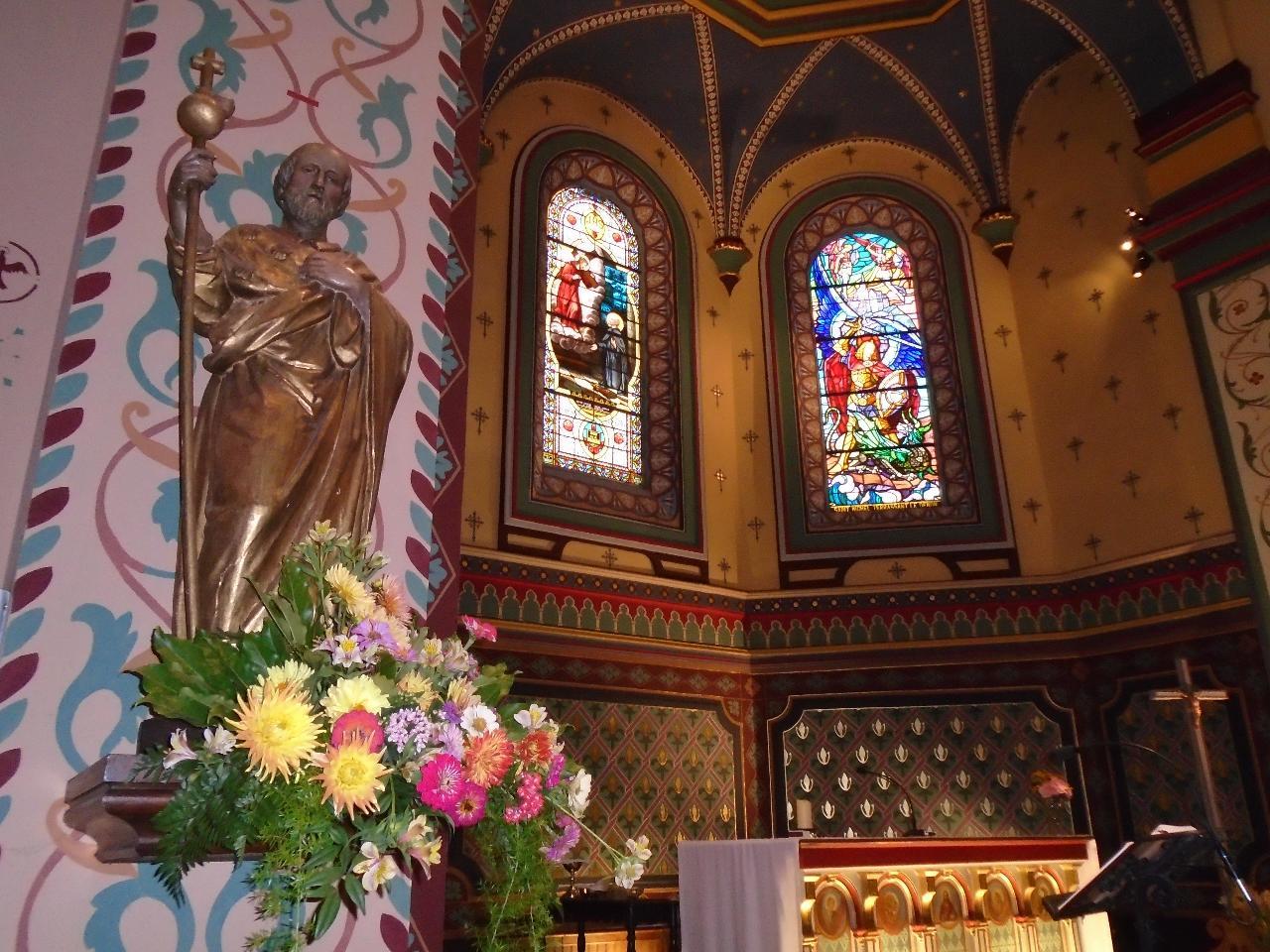 Saint Jacques le Majeur, église de Béhobie