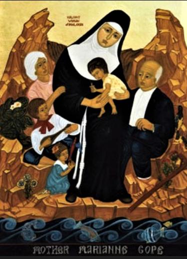 Sainte Marianne COPE - «Une merveilleuse œuvre de la grâce divine»