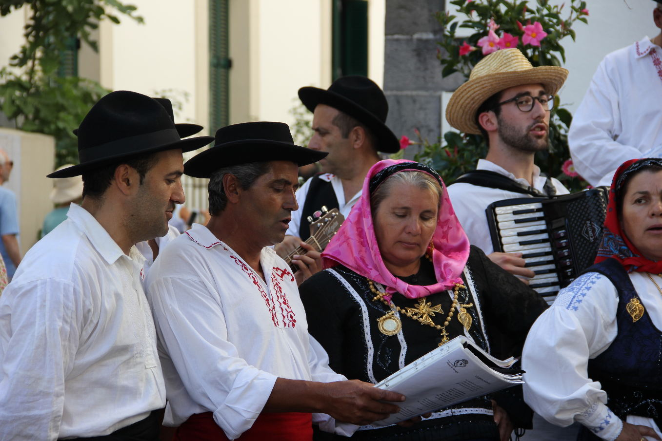 Chants du Portugal pour le v erre de l'amitié -