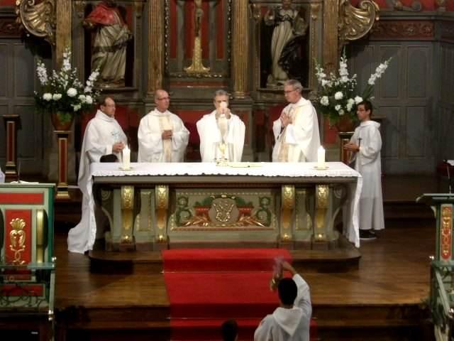 Avant la Kermese, la Messe, nourriture spirituelle et fête de l'Amour