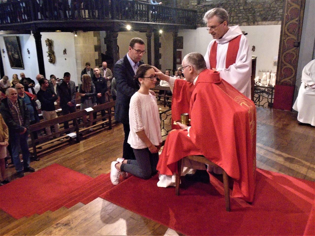 """"""" Pauline, sois marquée de l'Esprit Saint, le don de Dieu """""""