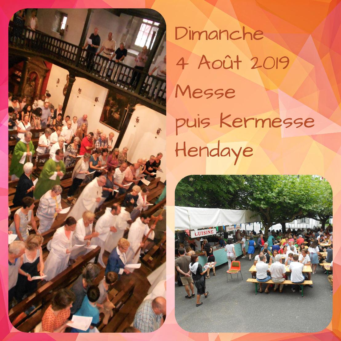 4 août 2019 – Beaux moments de la Messe dominicale précédant d'autres beaux moments de la Kermesse