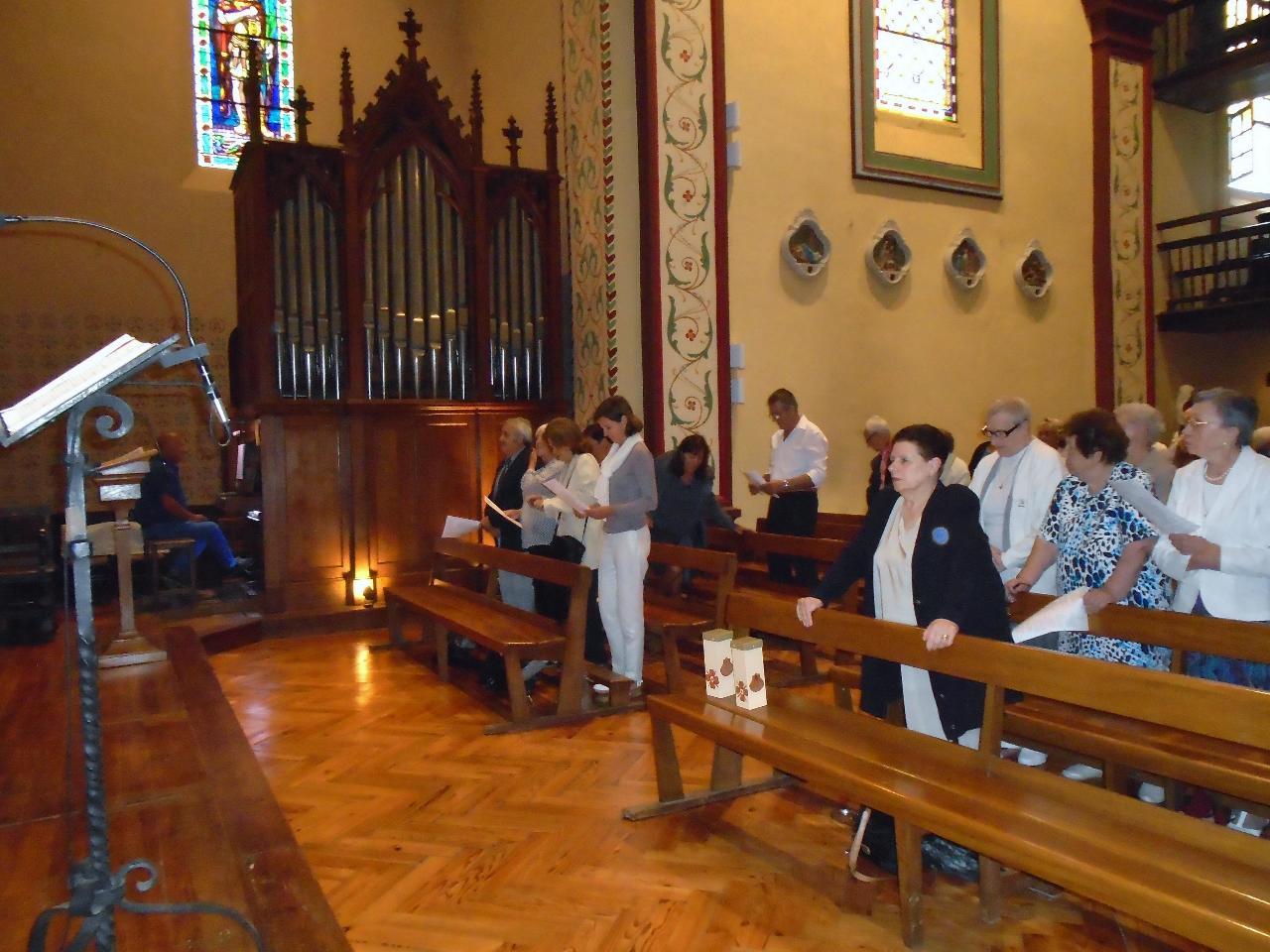 Présence de Madame le Maire d'Urrugne et des représentants du conseil municipal