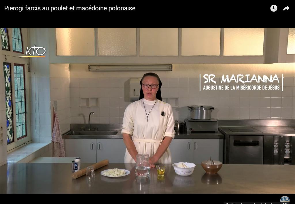 Recette des monastères - Soeur Mariana nous souhaite une belle fête de Pentecôte