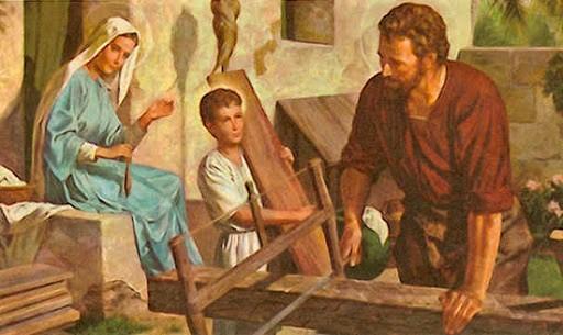 1er MAI FÊTE DE SAINT JOSEPH et Premier jour du MOIS DE MARIE