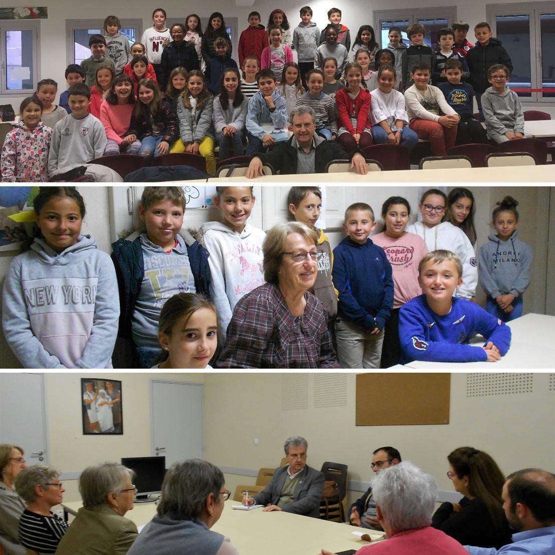 Le dernier jours du catéchisme pour les enfants - Bilan de l'année pour l'équipe de catéchèse – Première info pour les parents