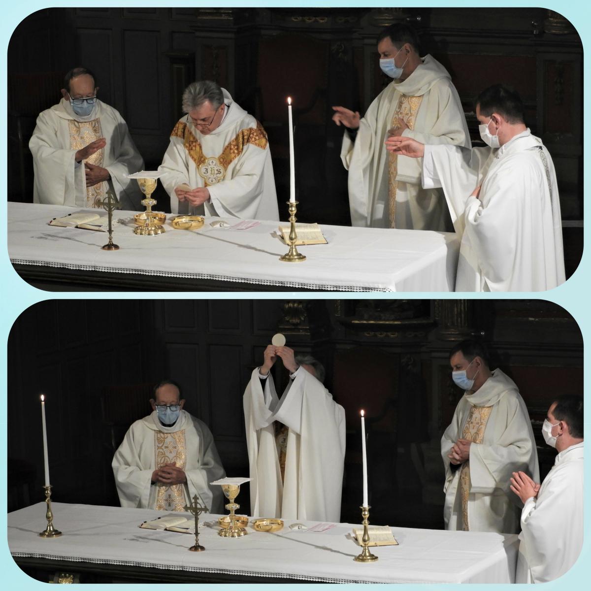 Consécration  du pain, Corps du Christ.jpg