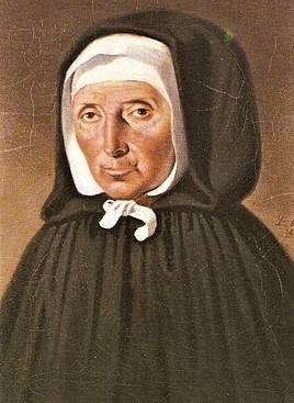 SainteJeanne Jugan, en religionsœur Marie de la Croix,