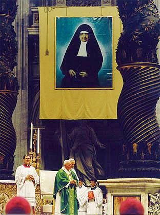 1995 St Jean-Paul II - titre de Bienheureuse.jpg