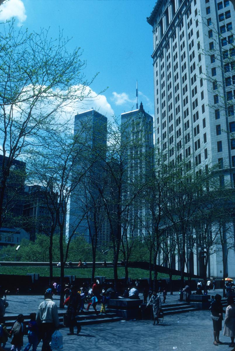 tours jumelles du World Trade Center avant le 11 spetembre 2001
