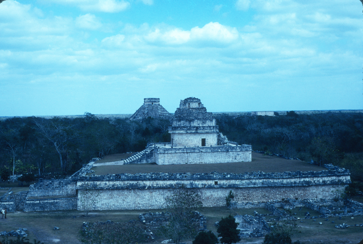 Chichen Itza, El Caracol, observatoire céleste.jpg