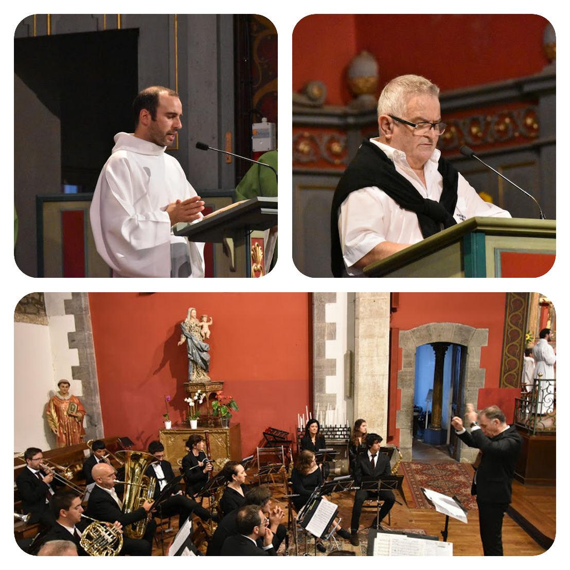 Iban et Benito et refrain en polyphonie musicale