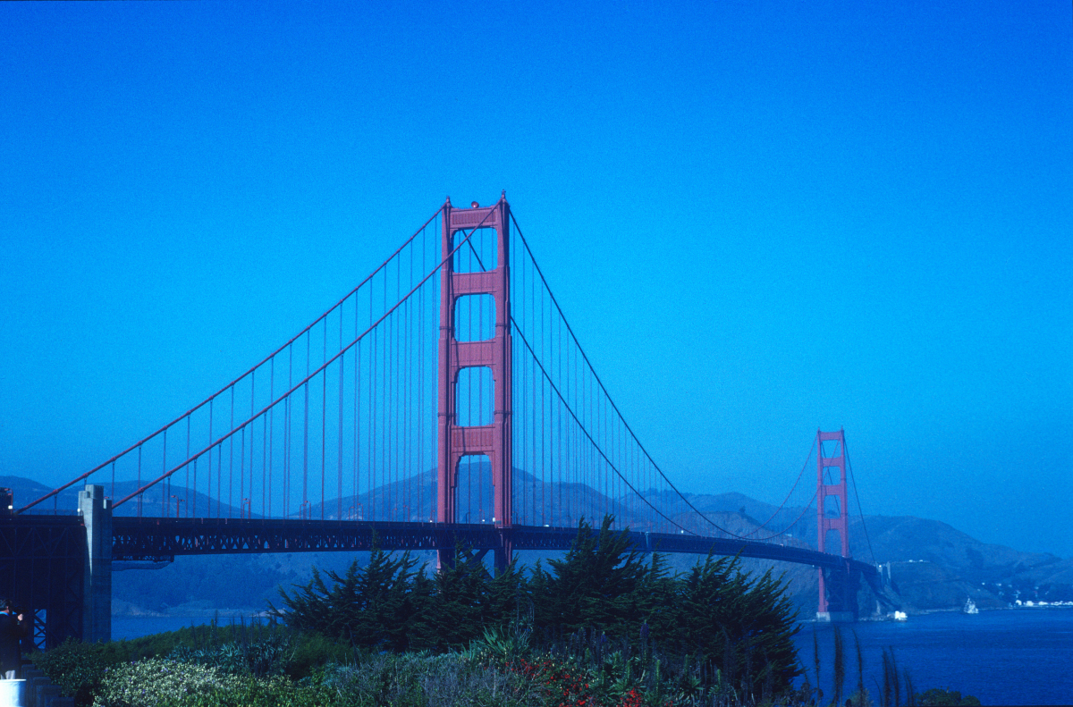 Golden Gate, LA carte postale de San Francisco.jpg