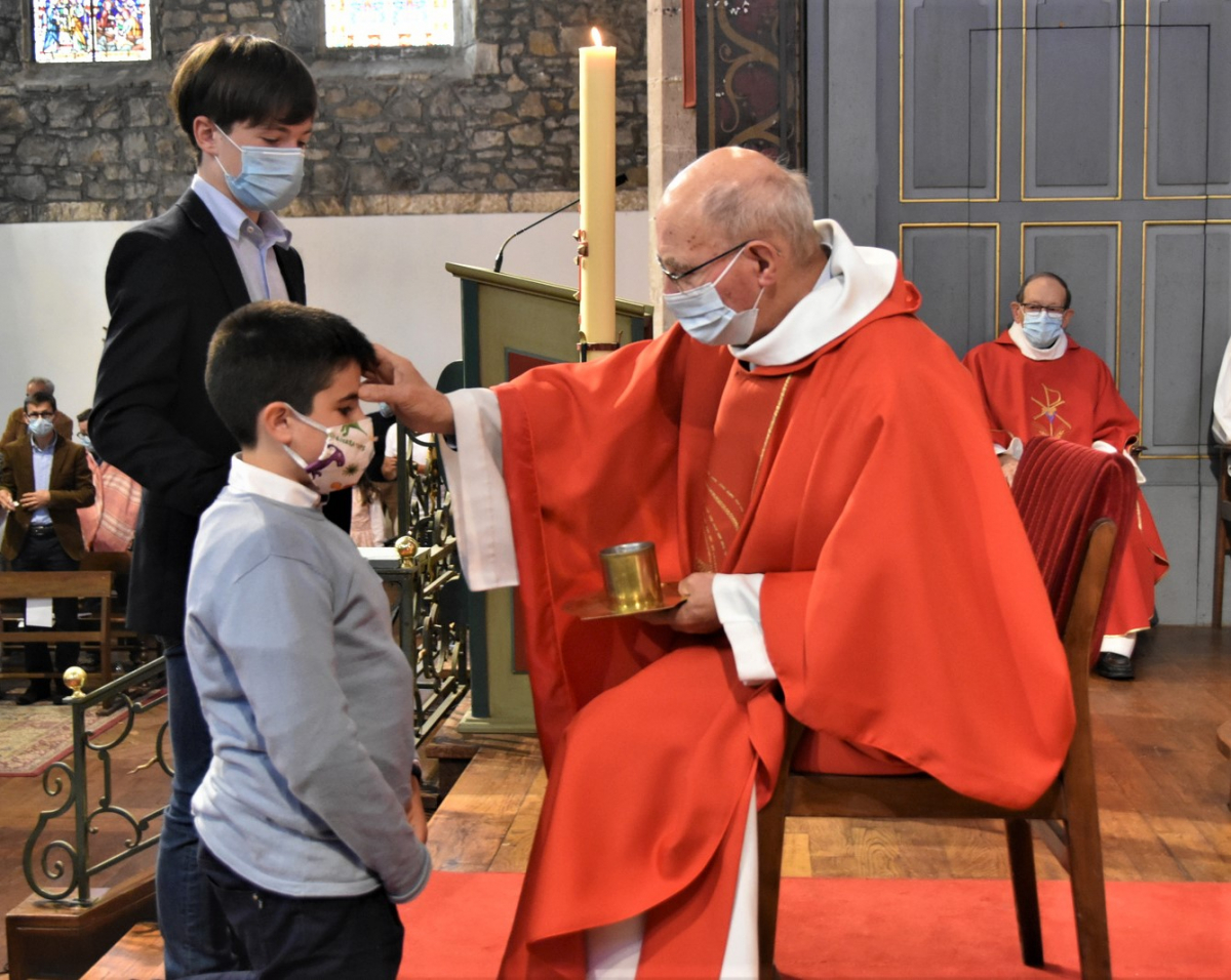 """""""Ignacio, sois marqué de l'Esprit Saint, le don de Dieu"""""""