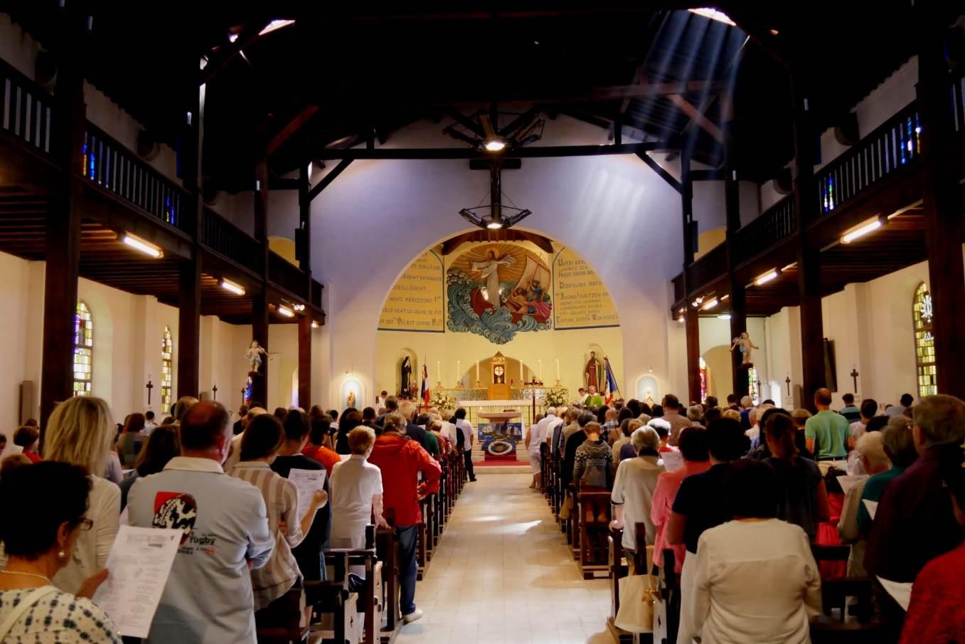 23 juillet - Messe à l'église sainte Anne pour de la fête de la mer