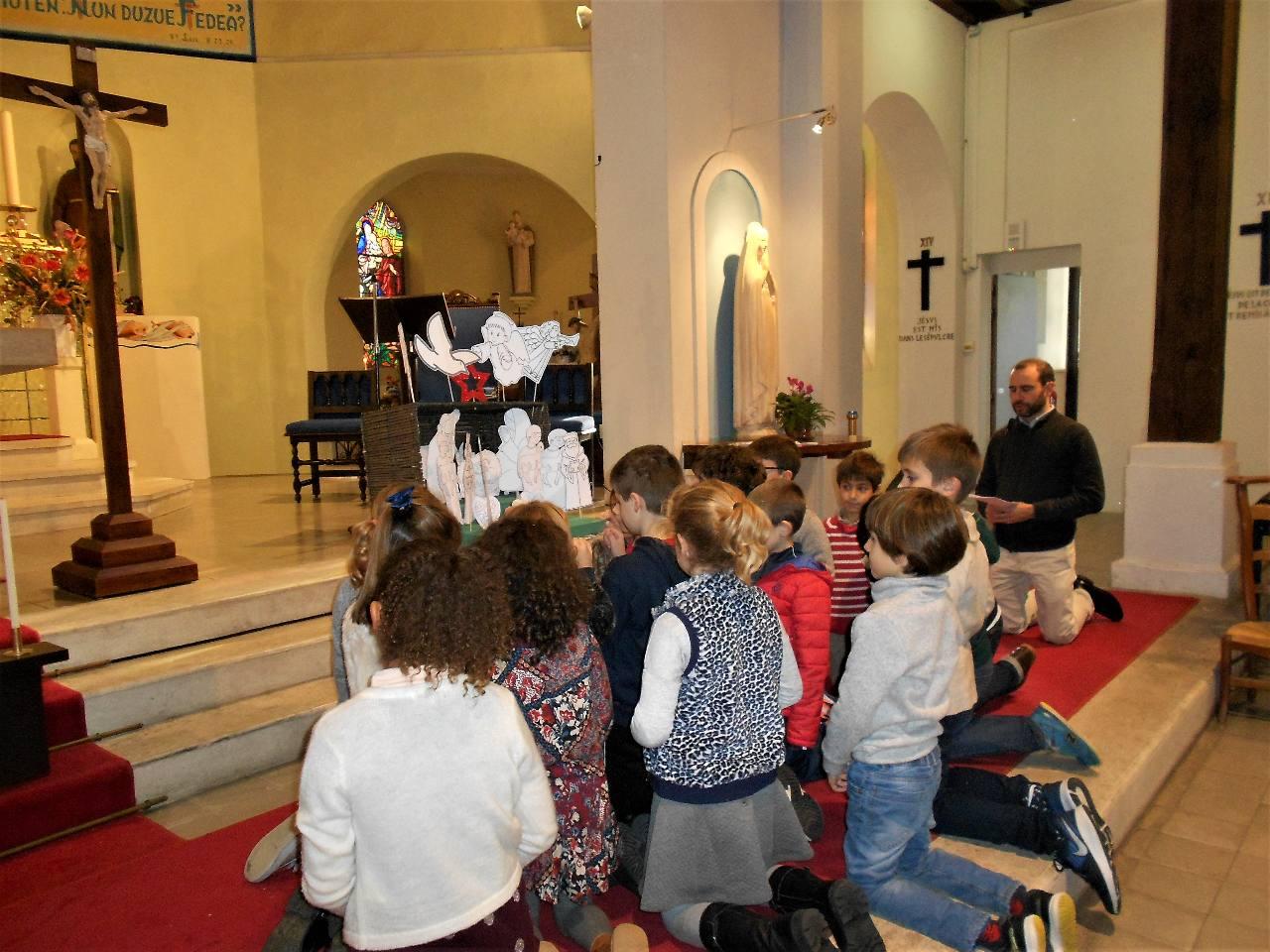 Temps de prière des enfants de l'Éveil à la Foi